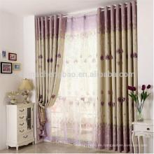 China cortinas caseras cortinas de apagón térmico no tóxico