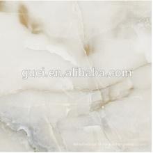 construção de materiais de acabamento grama artificial telhas de mármore branco