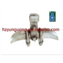 Encaixe de linha de montagem de linha de energia elétrica linha de montagem de alumínio braçadeira de cabo braçadeira de tensão braçadeira de suspensão