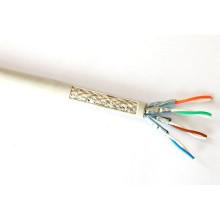 Câble Ethernet Cat7 haut de gamme avec 10g de données Cuivre recuit 600MHz