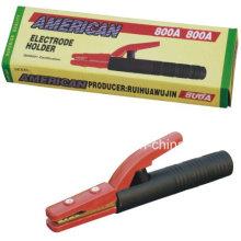 600A 800A American Copper-Plating Hierro Soldadura Electrodo Titular, Americano Tipo Soldadura Electrodo Titular