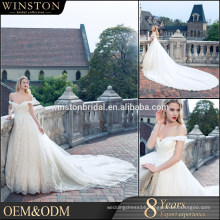 High end china factory direct wholesale wedding dress guanghzou