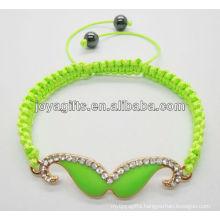 2013beard alloy wire woven bracelet