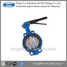Пластинчатый клапан для водопроводных труб из ковкого чугуна