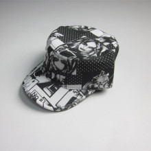 Full Sublimation Printing Polyester Military Cap