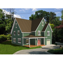 Casa da família norte-americana