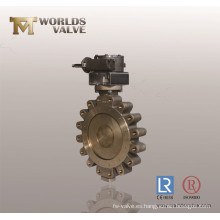 C95500 Lug Type Metal Seated Butterfly Valve
