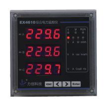 Instruments de mesure Ex4610 Compteur d'énergie électrique multifonction triphasé