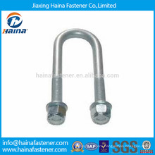 DIN3570 dacromet finished U bolt,U type bolt with nut