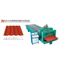 Dingin Tebal Steel Roof Machine Tile