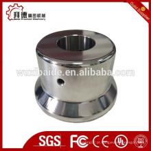CNC dobra / usinagem peças de aço cromado / espelho superfície polida cnc peças de usinagem