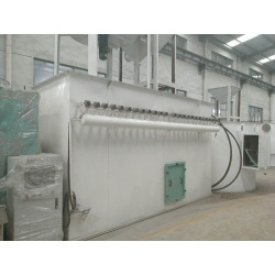Activated carbon Large dust removal