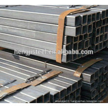Q195-Q235 pre-galvanized hollow section (square and rectangular) steel tube
