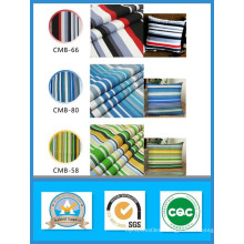 Thousand Designs in Stock 65%Cotton 35% Polyester Striped Printed Canvas Fabric 250GSM 150width