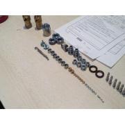 A356 2017 6063 Aluminum / Iron CNC Drilling Turning Parts P