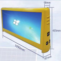 P4 LED Taxi Top Screen a colori