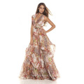 Silk Chiffon Digital Printed Fabric Dress, Silk Garment, Apparel