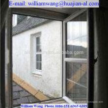 China alta qualidade e menor preço janelas de alumínio