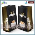 Sac de café en plastique à gousset latéral