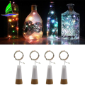Battery Operated Glass Bottles for Christmas