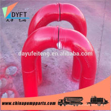 DN125 Betonpumpe Ersatzteile 45 Grad Biegung / Ellenbogen / Rohrverschraubung