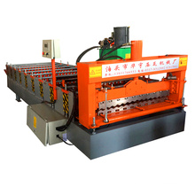 Hebei xinnou top 10 zinc box profile sheet metal roof valley 850 wave tile roll forming machine for iron sheet 6kw