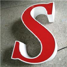 Letras de publicidad de alta calidad impermeable LED acrílico carta publicidad muestra tienda