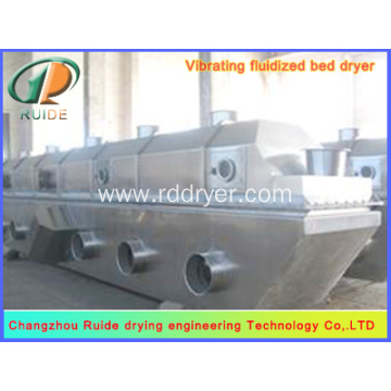 Organic fertilizer fluidized bed drier
