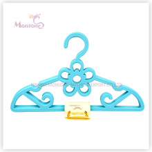 PP Plastic Flower Multi-Purpose Clothes Hanger Set of 5