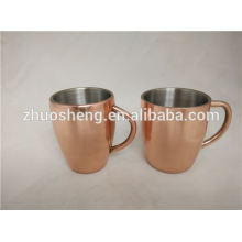 Moscow mule for vodka mug, colourful coating copper mug