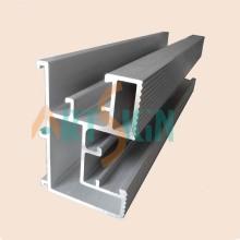 Aluminium Rails PV Solar Tile Roof Mount Solar Panel Bracket Mountings