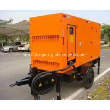 Mobile diesel generator set powered by Cummins or Perkins engine