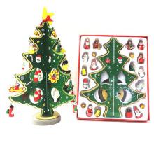 Adornos de árbol de Navidad al por mayor decorativo de madera