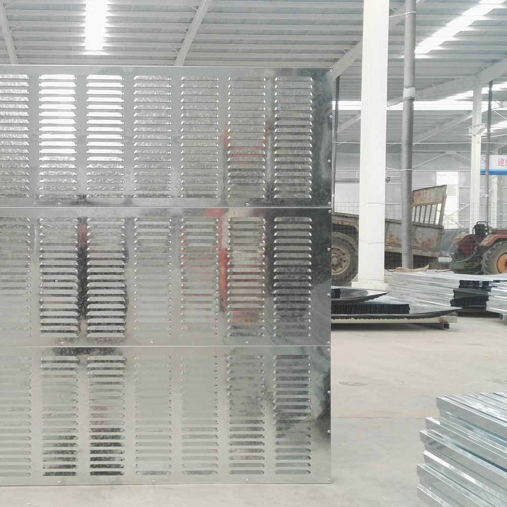 Toughened Glass Angular Sound Barrier