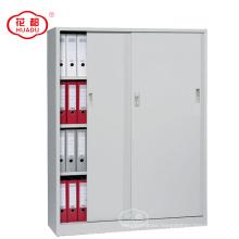 Latest design short lockable steel book rack cabinets with shelves inside