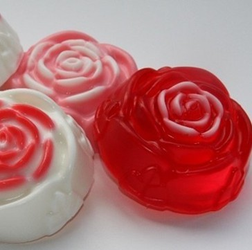 rose figure natural fragrant wax melts
