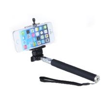 Nouveau portable télescopique portable Monopied Holder Remote Selfie Camera Black