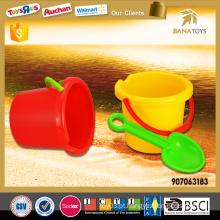 Brinquedo, verão, praia, balde, pá