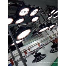 Rond d'OVNI léger de baie de 100- 150W LED pour l'entrepôt industriel