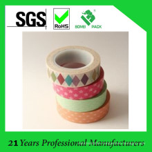 Masking Cute Adhesive Paper Tape with Free Sample