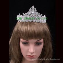 Оптовая Персонализированные Корона Rhinestone Queen's Tiara