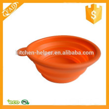 FDA Approved Highly Heat Resistant Silicone Collapsible Pet Bowl