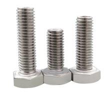 1/2 3/4 1 11/2  Full thread hex bolt 304 316 201 401