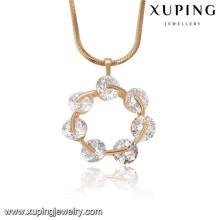 32762 Xuping grands pendentifs pour la fabrication de bijoux, pendentifs de bijoux en or saoudien