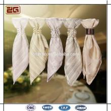 100% льняная ткань Моющиеся декорации Дешевые столовые салфетки Пзготовителей