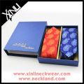 Handmade Silk Tie Cufflink Hanky Business Men Gift Set