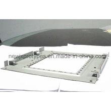 Fabrication de tôle de panneau ou avec la découpe au laser Pièces de cintrage, processus de rivetage