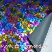 Senhoras popular bolsa couro tecido