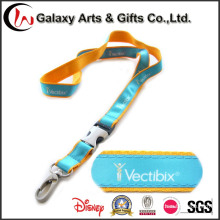 Double Layer Polyester Custom Printing Satin Lanyards