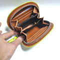 Leather women hand wallet purse